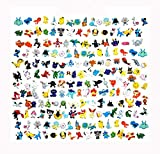 FHERIC poupées Pokémon Mini Figures Action Figures 2-3cm Jouets Action Figurines (144PCS)