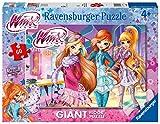 Ravensburger- Winx Puzzle per Bambini 60 Pezzi, Multicolore, 70 x 50 cm, 03049 1