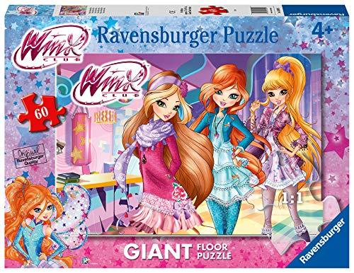Ravensburger - Winx Puzzle für Kinder, 60 Teile, Mehrfarbig, 70 x 50 cm, 03049 1