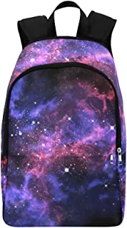 IIAKXNB Galaxy Orion in The Universe Space Casual Daypack Travel Bag College School Backpack Mens Women