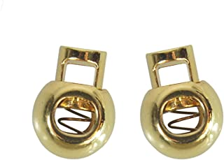 Lace Avenue One Pair of Gold Shoelace Locks for Shoe Laces