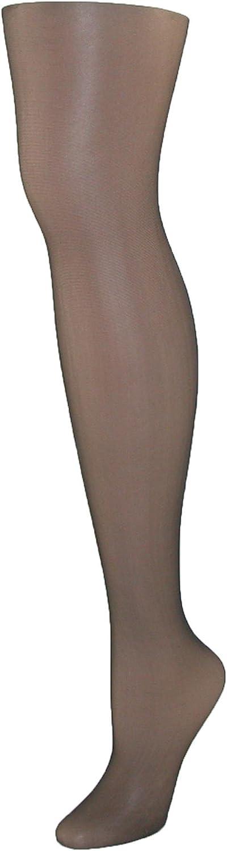 Hanes Women's Silk Reflections Control Top Sheer Toe Pantyhose 717 I/J Jet