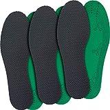 jaQob Plantillas con iones de plata - Plantillas antiolor con fragancia ligera - Plantillas para zapatillas contra el sudor y el olor de pies, recortables, 3 pares 36-46