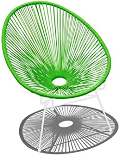 Harmonia Living HL-ACA-LC-LGW Acapulco Lounge Chair, Lime Green