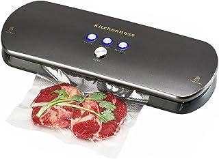 KitchenBoss Machine Sous Vide Alimentaire,Appareil de Mise sous Vide,Système Automatique de Sous Vide,pour Conservation de...