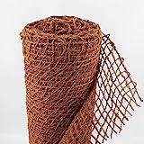Ufermatte Böschungsmatte I Zum Sonderpreis I 20m Kokosgewebe Kokosfaser-Matte 1m breit I Teichrand Pflanzen Wurzel-Schutz Kokosgeflecht Hangsicherung Bewuchsmatte