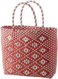 LINPAN Panier de Rangement Fleur légumes Panier Pique-Nique Panier de Rangement écologique extérieur Shopping Main Weave P...