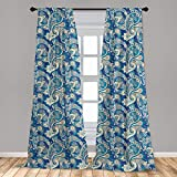 25 Best Ambesonne Home Fashions Curtains Navies