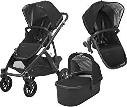 UPPAbaby Full-Size Vista Infant Baby Stroller & RumbleSeat Bundle, Jake