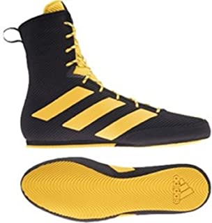 2021 Box Hog 3 Boxing Boots - Black Gold New