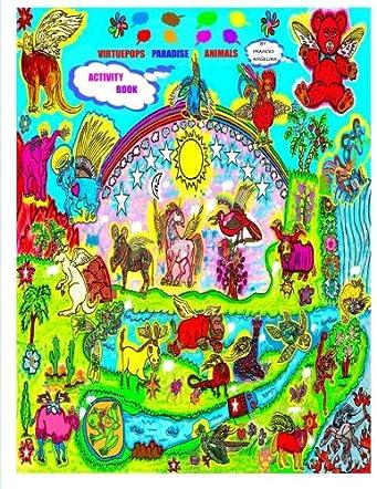 Virtuepops Paradise Animals Activity Book