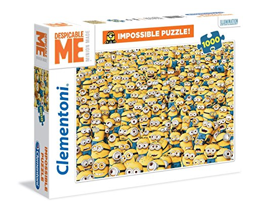 Clementoni - Puzzle de 1000 Piezas, diseño Minions (31450.8)