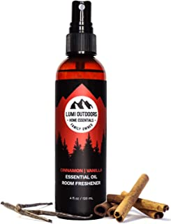 [Sale] Natural Air Freshener - Cinnamon Vanilla - Essential Oil Odor Eliminating Room Spray