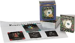 TarotTarot Card Deck and Book Set Complete Mega Mini Kit Fortune Telling Men Women Teen (RP Minis)