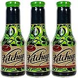 Aranyfacan Dreierpack Grillsoße und Bio Ketchup zuckerfrei mit Stevia in