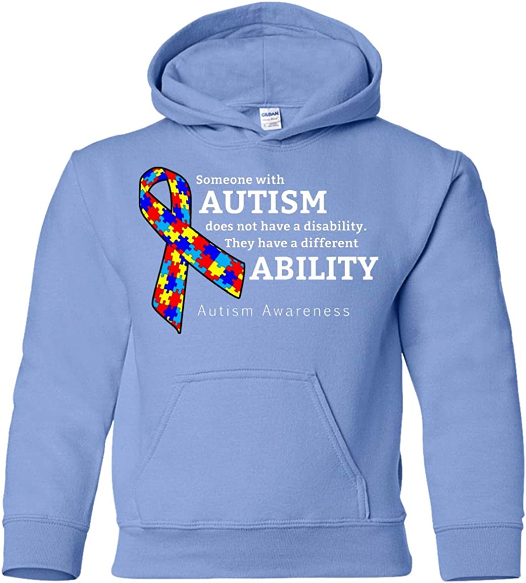 Autism Awareness Kids Cheap sale Pullover Hoodie Different Unisex Ability Max 56% OFF