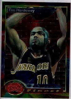 Basketball NBA 1993-94 Topps Finest #127 Tim Hardaway PF Warriors