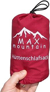 comprar comparacion Max Mountain - Saco de dormir para de microfibra, 300g, ligero, transpirable, ideal para hotel y excursionismo