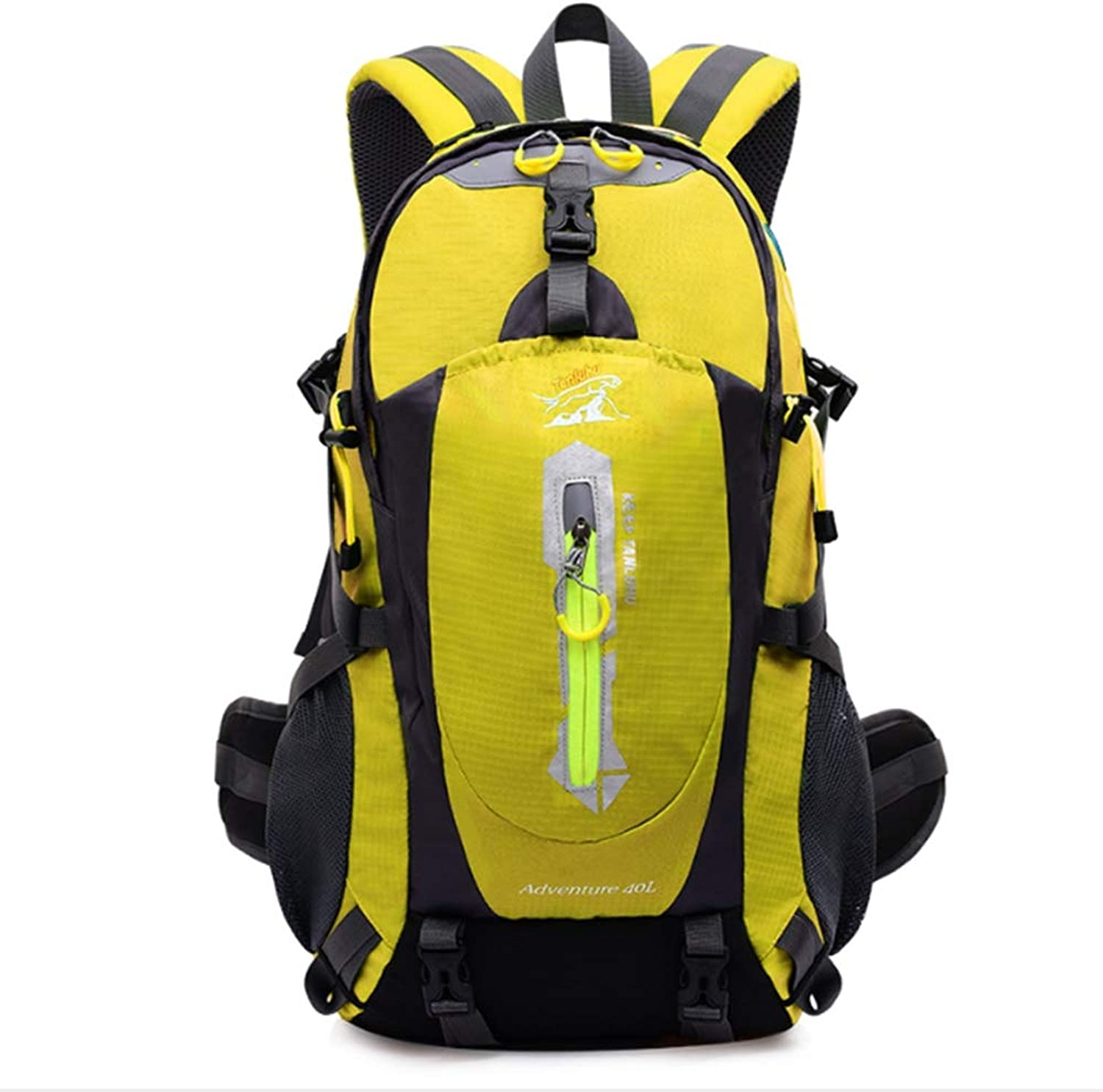 Outdoor Mountaineering Bag, Casual Backpack for Men and Women, MultiFunction LargeCapacity Travel Backpack for Hiking Camping
