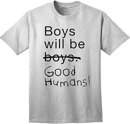 4e355b9a Boys Will Be Good Humans Baby/Kids T-Shirt