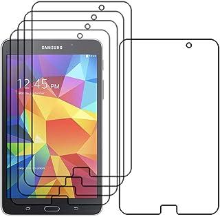 ebestStar - Pack x5 Protector Pantalla Compatible con Samsung Galaxy Tab 4 7.0 SM-T230, T231 T235 Películas Flexibles Anti Huellas Anti arañazos, Sin-Burbujas [Aparato: 186.9x107.9x9mm 7.0