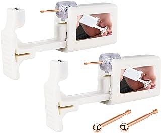 Sponsored Ad - 2 Pack Self Nose Piercing Kit, Upgraded Version Disposable Self Nose Piercing Gun Safety Nose Piercing Gun ...