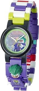 LEGO 8020851 Batman Movie Orologio da polso componibile per bambini con minifigure Joker   viola/verde   plastica   diamet...