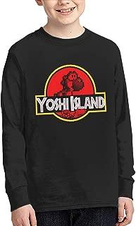 Teen Yoshi Park Boys and Girls Cotton Fashion Long Sleeve T-Shirt
