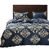 Black Temptation Inicio Impreso Soft Hotel Duvet Cover Set 2PC Twin Size #152