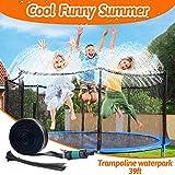 WITALENT Trampoline Sprinkler for Kids Trampoline Waterpark Backyard...