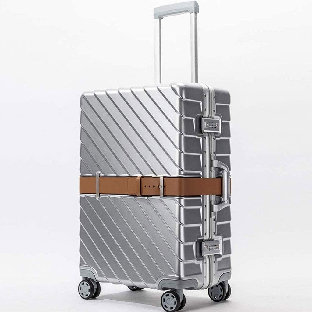 FSGHJJKN Rolling Aluminum Frame PC Baltimore Mall Memphis Mall Luggage Case Cosmetic Trolley