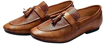 Hush Berry Men's Synthetic Leather Slip-on Loafers & Moccasins Casual Shoes