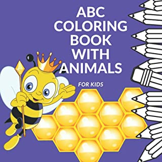 ABC Coloring Book with Animals: for Kids: Animals with Names