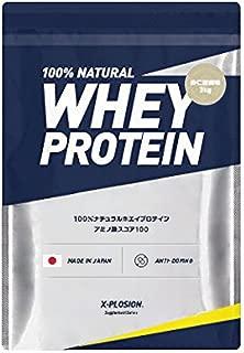 エクスプロージョン ホエイプロテイン 3㎏(約100食分) 杏仁豆腐味 国産