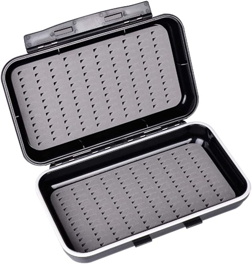 Aventik Waterproof Fly Box Inventory cleanup selling sale Easy Grip Fishing Tackle Foam Directly managed store