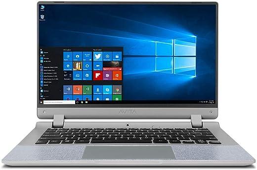 "AVITA Essential NE14A2INC433-CR 14"" (35.56cms)Laptop (Celeron N4000/4GB/128GB SSD/Window 10 Home in S Mode/Integrated Graphics), Concrete Grey"