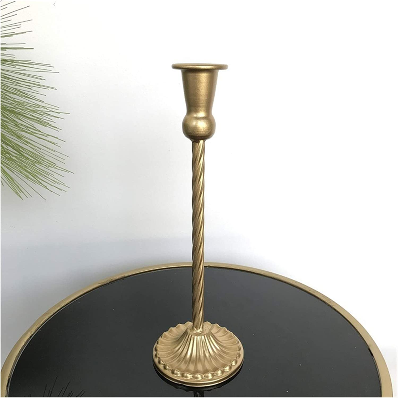 LAANYMEI 5 ☆ wholesale very popular Candlestick Vintage Metal Romantic Home Par