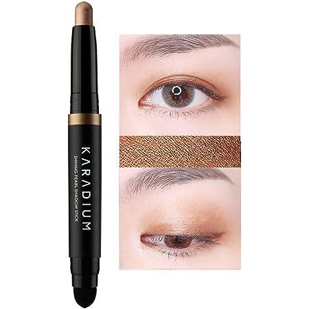 KARADIUM Shining Pearl Smudging Eye Shadow Stick 1.4g (#12 Bronze Star) - Waterproof Long Lasting Daily Eye Makeup Eye Shadow Stick, Creamy Texture, Easy to Draw, Hypoallergenic for Sensitive Eyes