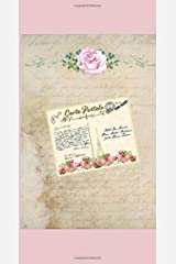 """""""Postcards From Paris"""" Traveler's Notebook Series - Journal Pages Refill For 8.5"""" x 4.5"""": Vintage Parisian Themed Journal Pages Include Goal Prompts ... & Life Balance, Guided Success Planner)) Paperback"""