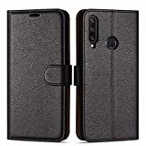 Case Collection Premium Leather Folio Cover for Huawei Y6p
