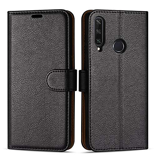 Case Collection Custodia per Huawei Y6p Cover (6,3') a Libretto in Pelle di qualità Superiore con Slot per Carte di Credito per Huawei Y6p Custodia