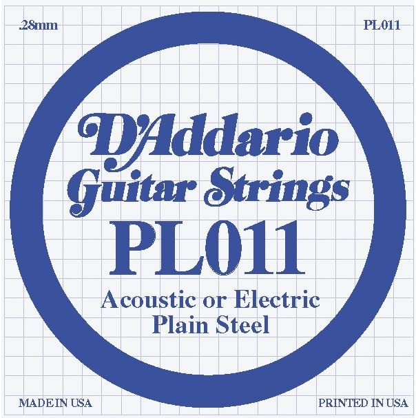 D'Addario 10-Pack Plain Ranking TOP6 Steel Single Electric Acoustic Regular dealer Gauge or