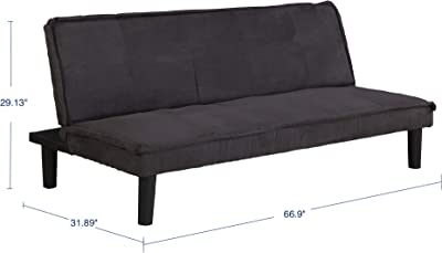 Amazon.com: Sealy Savannah Transitional Convertible Chaise ...