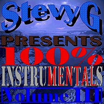 100% Instrumentals, Volume III