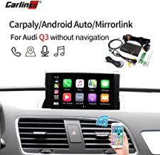 Wireless Carplay Box AirPlay Screen Mirroring for Audi Q3 MMI Factory Screen Upgrade