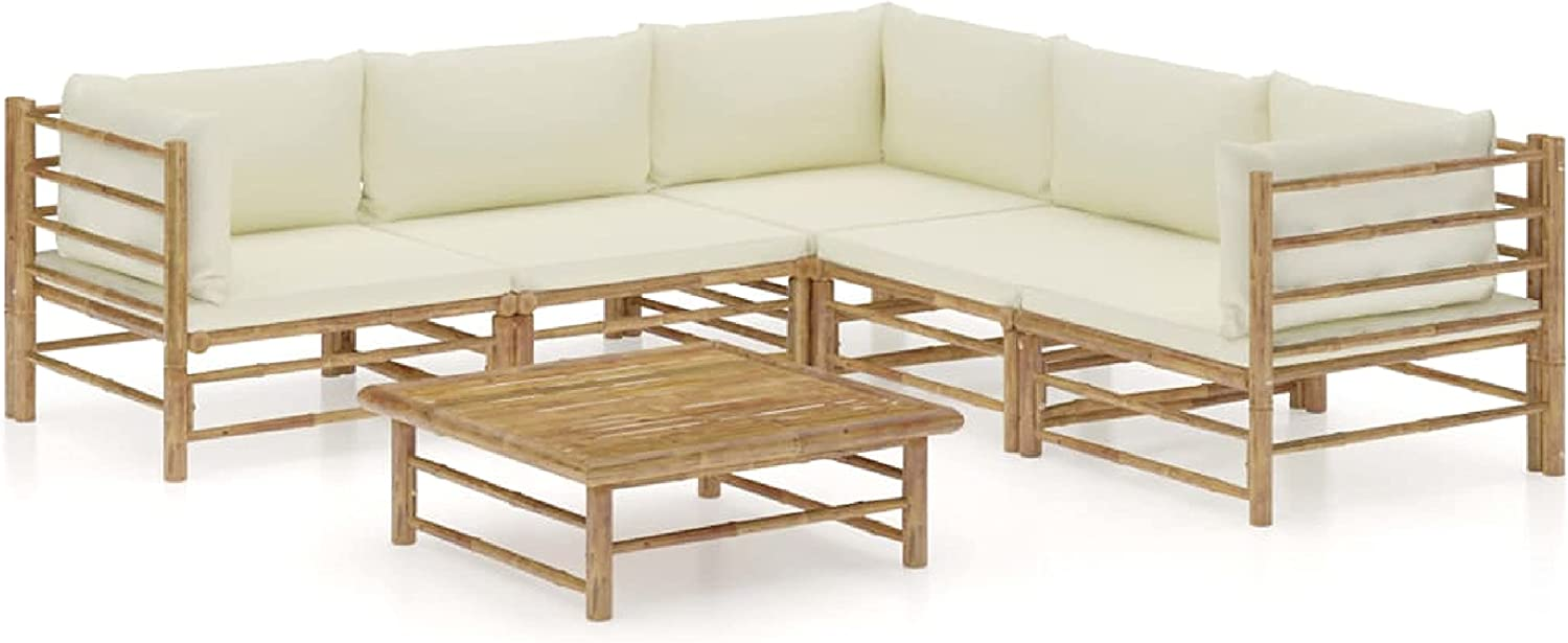 Now free shipping KA Company Outdoor Furniture Max 89% OFF Set 6 Piece Garden wit Lounge
