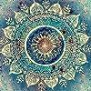 diy5dダイヤモンド絵画セットフルサークルダイヤモンドクレストイメージ工芸品家の壁画装飾インドのギフトパターン-30 * 40cm