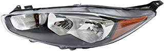 Headlight for Ford Fiesta 15-16 LH Assembly From 7-8-15 - CAPA w/Bulb(s) Driver Side