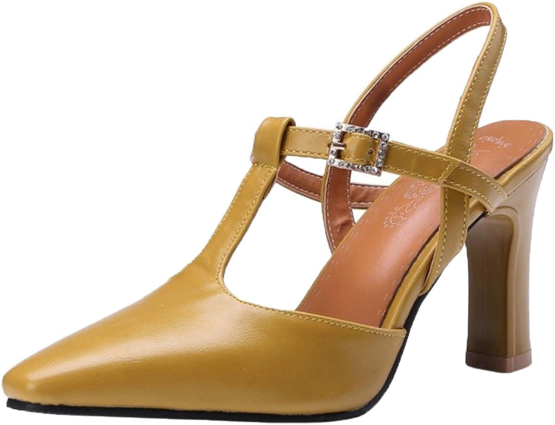 KemeKiss Women Pointed Toe Sandals Heels