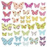DECOWALL DS-8005 Motif Papillons Autocollants Muraux Mural Stickers Chambre Enfants...